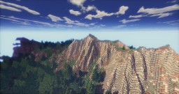 Default Hyper Realistic Terrain - 1536X1536 Minecraft Map & Project