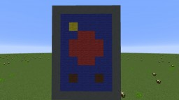 Martian Flag Minecraft Project