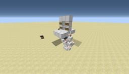 Redstone - Compact Security Door Minecraft Project
