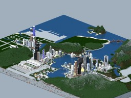 Bayview Heights- A Modern City Minecraft Project