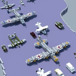 Cars, Planes, and Other Things Minecraft Map & Project