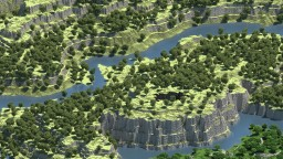 Skyreaver - Greenwalt - 2.5K Terrain Map Minecraft Map & Project