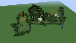 Coloma gold rush town Minecraft Map & Project