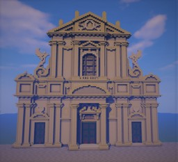 Baroque Roman Church Minecraft Map & Project