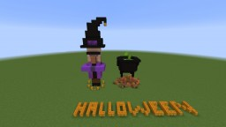 Halloween Witch Minecraft Map & Project