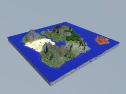 The LostLand v1.0 Minecraft Map & Project