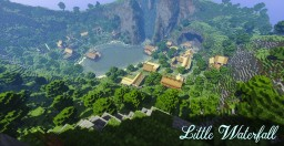 """Little WaterFall"" Map by MrGoldWaRRioR Minecraft Map & Project"