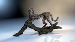 Cheetah Cheetah Pumpkin Eater Minecraft