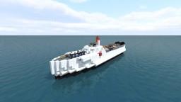 S-100 Schnellboot Full Interior Minecraft