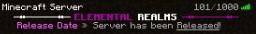 Elemental Realms Minecraft Server