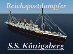 S.S. Königsberg Minecraft Map & Project