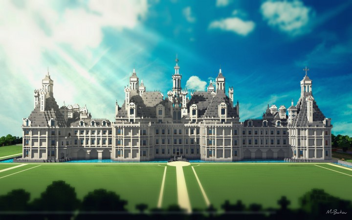 Ch teau de chambord castle of chambord minecraft project - Chateau de minecraft ...