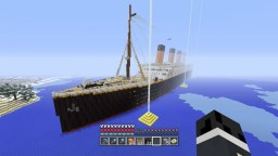 R.M.S Titanic on Playstation 4 100% Survival Minecraft Project