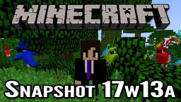 Minecraft Snapshot 17w13a | Automatic Crafting and Parrots!
