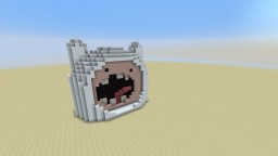 Finn's head - Adventure time Minecraft Project