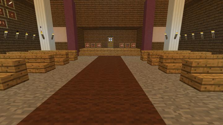 Church interior, front - so far