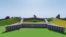 Fort Independence, Boston, MA Minecraft Map & Project