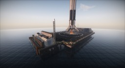 Realistic SpaceX Falcon 9 Landing
