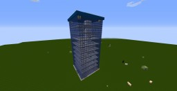 Glass Skyscraper Minecraft Project