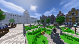 Baroque style server spawn Minecraft Map & Project