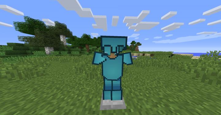 Diamond Armor Front