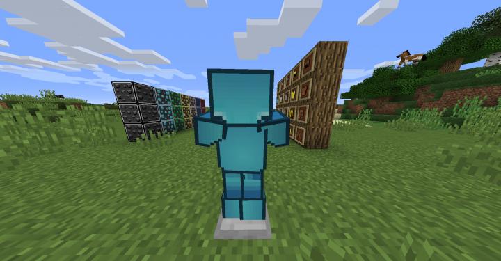 Diamond Armor Back