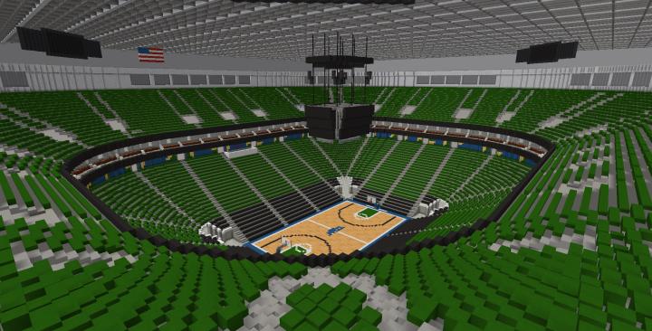 VivintSmartHome Arena - Utah Jazz Minecraft Project