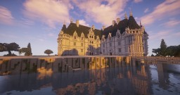 Château d'Azay-le-Rideau By MrBatou Minecraft Map & Project