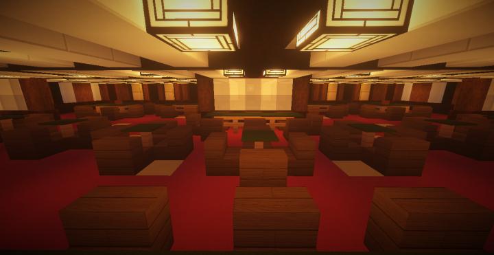 First class a la carte restaurant