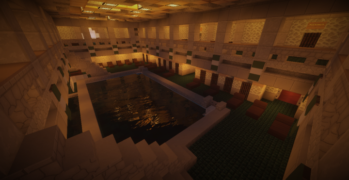 First class indoor pool
