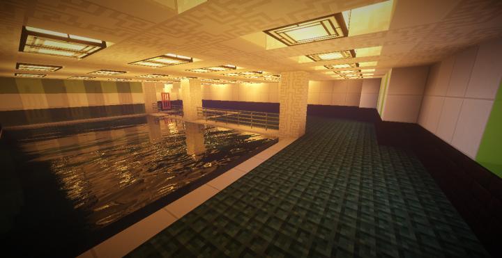 Second class indoor pool