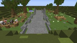 Garden/Farm/Picnic Minecraft Map & Project