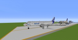 Airbus A320 and Boeing 737 Minecraft