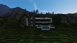 Modern Mountain Mansion Minecraft Map & Project