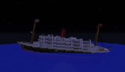 SS Victoria Sinking and Wreck Minecraft
