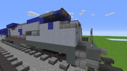 Amtrak GE Dash 8-32BWH Minecraft Map & Project