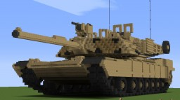 M1 Abrams family 2 Minecraft
