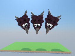 Devil Face Minecraft Map & Project