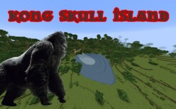 Kong Skull Island - Realistic adventure map with skull crawlers +[Download Minecraft Project