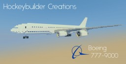 Boeing 777-9000 Minecraft Map & Project