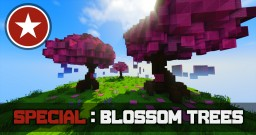 Cherry Blossom Tree Tutorial Minecraft Map & Project