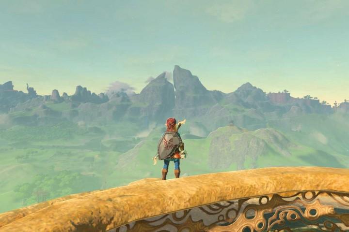 Zelda ingame screenshot
