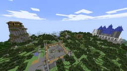 Vanguard Custom NPCs Medieval Map Minecraft Map & Project
