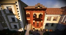 Sienna Row Home | Greenfield Minecraft