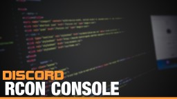 Rcon console for Discord