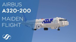 Airbus A320-200 (Maiden Flight Edition) Minecraft