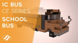 IC Bus CE Series School Bus , 2003 model Minecraft