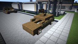 Armoured car (Pocket Edition) (SHADERS XAXAXAXA VIVE NSR) Minecraft Project