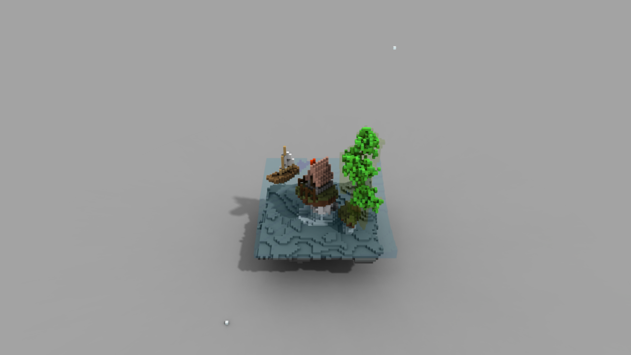MAGICAVOXEL VIEWER RENDERING With transparent textures