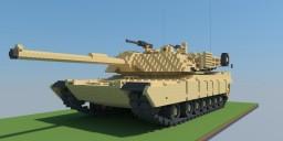 M1A2 Abrams tank 10:1 scale Minecraft